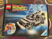Lego Back To The Future 21103 The Delorean. New Sealed. Year 2013. Discontinued.