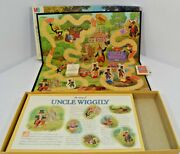 Vtg Rare 1988 The Uncle Wiggly Board Game Complete Milton Bradley Kids Family