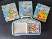 Leap Frog Little Touch Pad With 4 Books And 3 Cartridges.