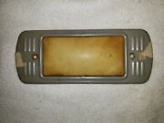 1947 - 1954 Chevrolet Truck Dome Light Bezel Cover With Lens Free Shipping