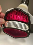 Old Antique Vintage 1920s 1927 1928 Buick Car Stop Tail Light Rim And Lenses