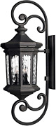 Hinkley Raley Collection Four Light 4w Led Extra Large Outdoor Wall Mount, Museu