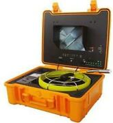 Forbest Luxury Color Sewer/drain Camera 130and039 Cable W/ Sonde Transmitter Fb-pic