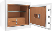 Winbest Barska Fireproof Jewelry Drawer Security Safe Cabinet With Organizer, Wh