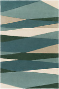 Surya Forum Home Decor Area Rug 12and039 X 15and039 Teal Blue