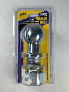 Valley 51840 Hitch Tow Trailer Ball 2 Dia.1 1/4 X 2 1/4 Dia Shank - Brand New