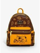 Loungefly Disney Winnie The Pooh Autumn Mini Backpack - Exclusive Rare Nwt