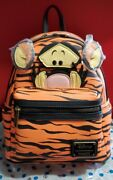 Loungefly Disney Winnie The Pooh Tigger Mini Backpack- Exclusive Nwt