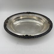 Vintage Epca Bristol Silverplate By Poole Oval Serving Dish P