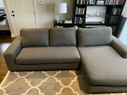Pottery Barn Big Sur Sectional Double Wide Chaise