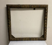 Large Antique Solid Bronze Picture Frame
