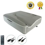 Ultra Short Throw Dlp Projector 3d For Fake Window House Mapping W/accessories