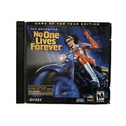Operative No One Lives Forever -- Game Of The Year Edition Pc 2001