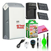 Fujifilm Instax Share Sp-2 Smartphone Printer With 40 Films + Battery