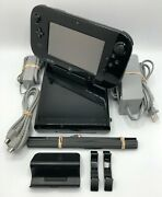 Nintendo Wii U Deluxe 32gb Console And Gamepad Mario Kart 8 - Complete System