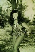 Bunny Yeager Pin-up Bettie Page Cheesecake Original 1950s Camera Negative Slide