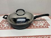 Wearever 12 Non Stick Skillet Deep Pan Chicken Fryer With Domed Metal Lid