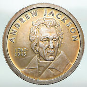 2013 President Andrew Jackson Federal Reserve Act Of 1913 Silver Medal I91233