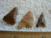 Hand Scraper Point Lot Early Man Paleolithic Acheulean Tools Africa Set-3 Ca69
