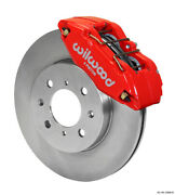 Wilwood Dpha Front Caliper And Rotor Kit, Red, Honda / Acura W/ 262mm Oe Rotor