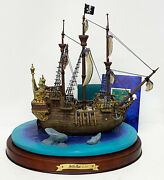 Wdcc Peter Pan - The Jolly Roger Enchanted Places Figure Mib W/ Coa Disney