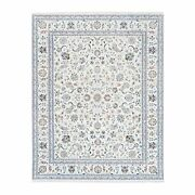 7and0399x10and0391 Wool And Silk 250 Kpsi Nain All Over Design Hand Knotted Rug G62724