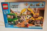 Lego 4203 City Excavator Transport Brand New Factory Sealed Retired Hard To Find