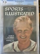Sports Illustrated 1960 Red Schoendienst Cgc 7.5 Highest Graded 1 Of 1
