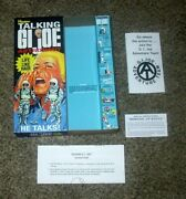 Gi Joe - Life Like Hair Talking Astronaut Reproduction Talker Box With Inserts