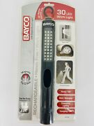 Bayco Rechargeable Led Work Light Mechanic Flashlight Lamp Magnetic Top + Side