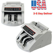 Money Bill Currency Counter Counting Machine Counterfeit Cash Register Us Only