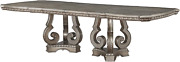 Acme Furniture Northville Dining Table, Antique Champagne