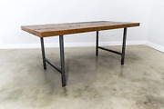 Reclaimed Wood Dining Table And Matching Bench Combo   Salvaged Barn Wood   2.50