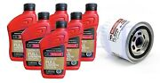 6 Qts Motorcraft Full Synthetic Engine Oil 5w20 + Oil Filter Ford E250 4.2l V6