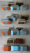 5 Old Table Cigarette Lighter / 4 Petrol / 1 Gas Butane / Non-working