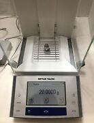 Mettler Toledo Xs204 Balance Scale Fact 220g/0.1mg Tested Calibrated E Cosmetic