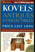 Book - Sc - Kovelsand039 Antiques And Collectibles Price List - 1998