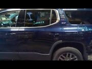 Driver Left Rear Side Door Blue Without Solar Fits 17-18 Acadia Paint Code G1m