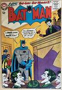 Batman 163 May 1964 Batgirl And Classic Joker Silver Age App Lots Of Pictures