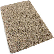 12and039x30and039 Beach Path Beige Frieze Shag Indoor Area Rug Carpet. Soft And Plush 32 O
