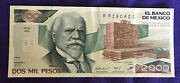 Mexico 1984 2000 Two Thousand Peso Note