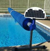 Automatic Solar Blanket Cover Reel / Roller - Remote Controlled Solar Battery P