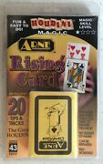 New Factory Sealed Houdini Magic Rising Card Deck And Trick Booklet Beginner Level