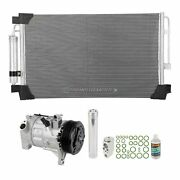 For Nissan Altima 2013 2014 2015 A/c Kit W/ Ac Compressor Condenser And Drier Gap