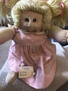 Cabbage Patch Soft Fabric 1978 With Original Dress Diapers / New With Name Tag