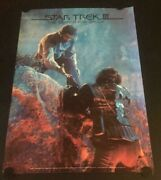 Very Rare Original Vintage Star Trek Lll The Search For Spock Promo Poster