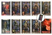 Neca Predator 30th Anniversary Collection Lot - Plus 2017 And 2018 Sdcc Exclusives