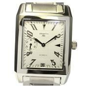 Zenith Port Royal Elite 02.0251.684 Automatic Menand039s Silver Dial Ss Date [e0512]