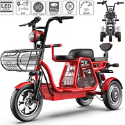 Fyhjnd Electric Bikes Mobility Scooters 3-wheel Mobility Scooter With Detachable