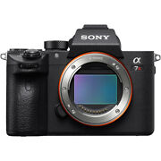 Sony A7r Iii Full Frame Mirrorless Interchangeable Lens Camera Body Ilce-7rm3/b